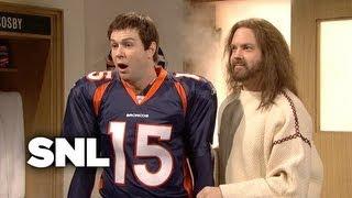 Download Jesus Visits Tim Tebow and The Denver Broncos - SNL Video