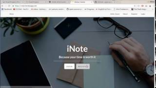 Download CS50 Final project INote Video