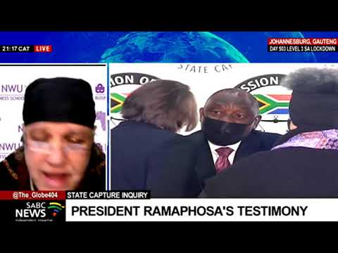 State Capture Inquiry | Impact of President Ramaphosa's testimony on the ANC: Dr. Piet Croucamp