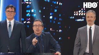 Download Stephen Colbert & John Oliver Take Over The Stage | Night Of Too Many Stars | HBO Video