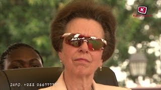 Download Princess Anne Pay Visit to Otumfuo Osei Tutu II at Kumasi Manhyia(Full Documentary) Video