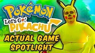 Download Pokemon Let's Go: Pikachu & Eevee ACTUAL Game Spotlight Video