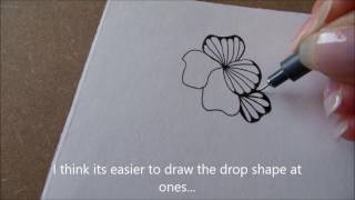 Download How to draw tanglepattern Ginili Video