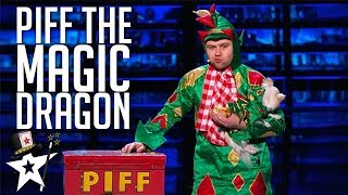Download Piff the Magic Dragon on America's Got Talent | Magicians Got Talent Video