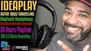 Download IDEAPLAY v402 Noise Cancelling Headphones 🎧 : LGTV Review Video