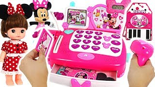 Download Come to the Disney Minnie Mouse store! Market Cash Register play with Elsa, Remy #PinkyPopTOY Video