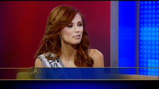 Download Steve Doocy Teaches Miss USA Alyssa Campanella to Deliver the Weather Video