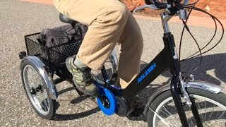 Download Raleigh Tristar iE Electric Trike Review | Electric Bike Report Video
