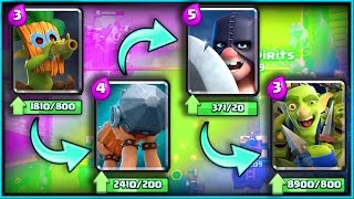 Download ALL NEW CARDS GAMEPLAY! • Clash Royale! • ″Dart Goblin″ ″Battle Ram″ ″Goblin Gang″ ″Executioner″ Video