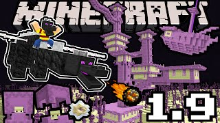 Download Minecraft 1.9 Snapshot: Dragon Update, Shulker, End City Sky Ship, New Blocks, Arrows, Dual Wield Video