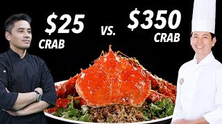Download $25 Crab vs. $350 King Crab by Master Chef • Taste The Chinese Recipes Show Video