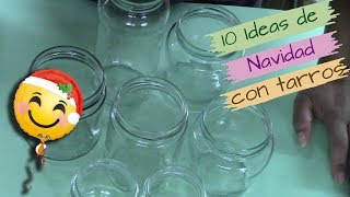 Download 10 IDEAS PARA NAVIDAD RECICLANDO TARROS DE CRISTAL Video