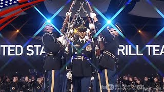 Download U.S. Army Drill Team Awesome Performs - Celebrating America's Army 2018 Video