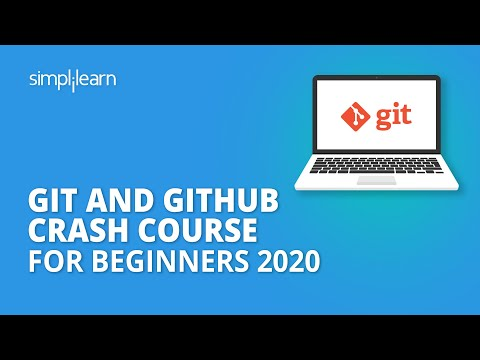 Git And Github Crash Course For Beginners 2020 | Git And Github Tutorial For Beginners | Simplilearn