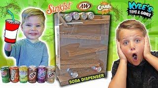 Download DIY Soda Dispenser Coca Cola Vending Machine Video