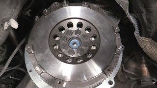 Download E46 Single Mass Flywheel & clutch swap Video