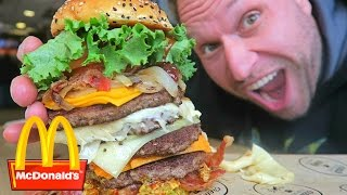 Download McDonald's Most Expensive Burger! Video