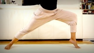 Download Yoga Anfänger Workout: Dein Programm für schlanke Beine und knackigen Po! Video
