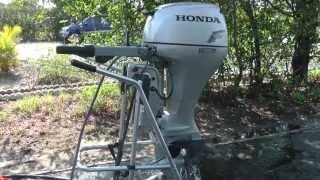 Download 2008 Honda 2008 20hp tiller outboard motor Video