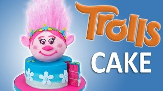 Download How to Make a Trolls Cake with Edible Hair from Cookies Cupcakes and Cardio Video
