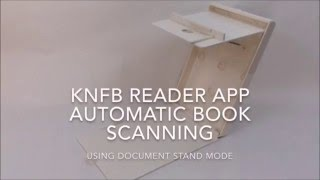 Download Using The KNFB Reader App For Book Scanning Video