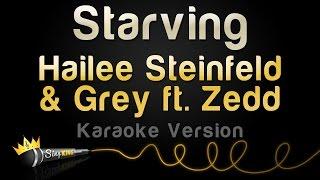 Download Hailee Steinfeld & Grey ft. ZEDD - STARVING (Karaoke Version) Video