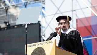 Download Penn's 2016 Commencement Ceremony- Commencement Speaker Lin-Manuel Miranda Video
