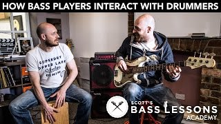 Download How Bass Players Interact with Drummers: Being Conversational with the Kick Drum /// Bass Lesson Video