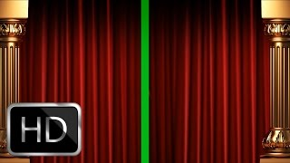 Download Green Screen Curtain Intro Premium Full HD 1920x1080px! Video