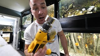 Download DRILLING HOLES INTO FILLED AQUARIUMS Video