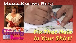 Download Mama Knows Best: Fix That Hole In Your Shirt Video