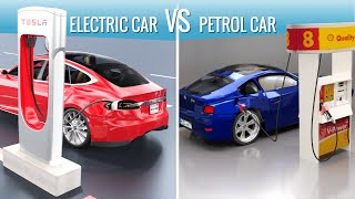Download Electric cars vs Petrol cars Video