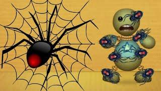 Download Black Widow SPIDER vs The Buddy | Kick The Buddy Video