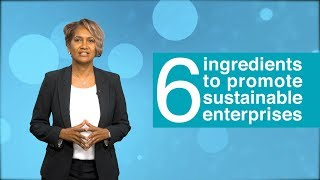 Download What are six key ingredients to promote sustainable enterprises? Video