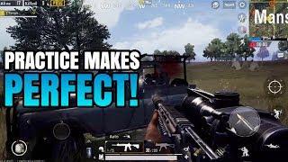 Download Practice Makes PERFECT! | FPP Solo VS Squad | PUBG Mobile Video