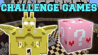 Download Minecraft: GARGOYLE CHALLENGE GAMES - Lucky Block Mod - Modded Mini-Game Video