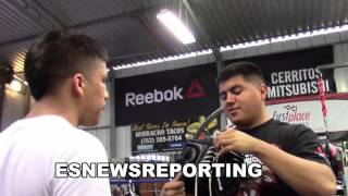 Download abner mares sparring day at gym - EsNews Boxing Video