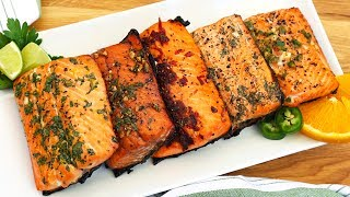 Download 5 EASY Salmon Marinades! Video