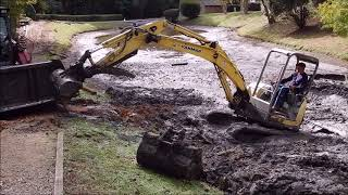 Download Aggravated Retention Pond Dredging Video