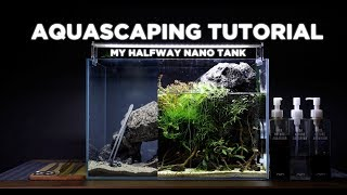 Download HalfWay nano tank - Cinematic Aquascaping tutorial Video