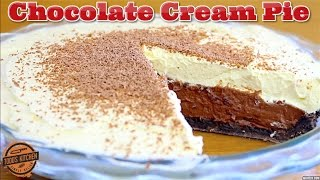 Download No bake CHOCOLATE CREAM PIE - How to make recipe Video