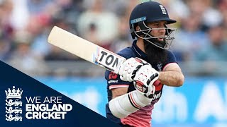Download Moeen Ali's 53-Ball ODI Century - Extended Highlights Video