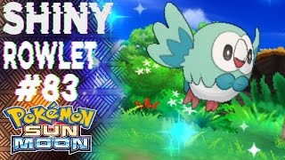 Download FIRST LIVE SHINY ROWLET ON YOUTUBE!!! (450SR) - Road to Shiny Living Dex (83/802) Video