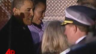 Download Raw Video: Obama Arrives in Norway for Nobel Video