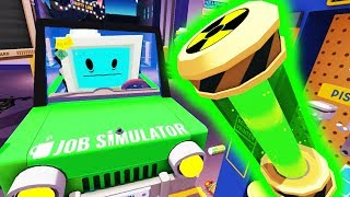 Download Building a Nuclear Powered Car! - Job Simulator Infinite Overtime - HTC Vive Pro VR Video