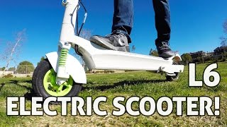 Download L6 ELECTRIC SCOOTER! REVIEW Video