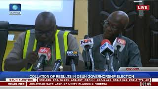 Download Collation Of Results In Osun Governorship Election Pt.12 |Osun Decides| Video