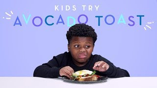 Download Kids Try Avocado Toast | Kids Try | HiHo Kids Video
