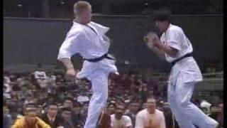Download ″Kyokushin Karate″ KO (back spin & other kick) Video