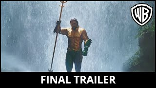 Download AQUAMAN - Final Trailer Video